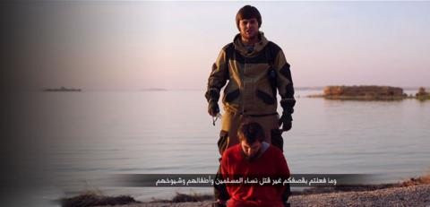 Shocking video: ISIS released a video showing Russian beheaded