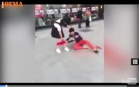 Guy strips his girlfriend